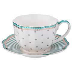 Чайный набор из фарфора на 6 персон 275-951