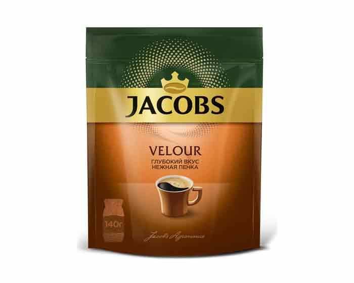 Кофе растворимый Jacobs Velour с пенкой