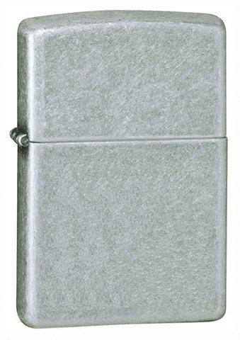 Зажигалка Zippo Classic с покрытием Plate, латунь/сталь, серебристая, матовая, 36х12x56 мм123