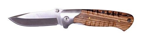Нож Stinger, 85 мм, серебристо-коричневый