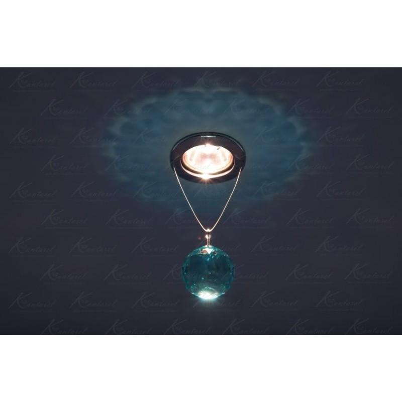 Встраиваемый светильник Kantarel PLANET CD 001.2.3 Ant. green