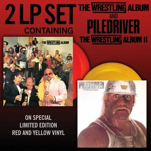 Комплект из двух виниловых пластинок. The Wrestling Album / Piledriver. 30th Anniversary Limited Edition
