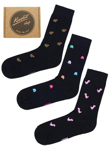 Набор Черных носков 3-76