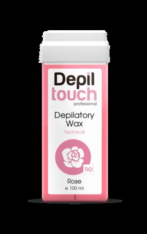 Теплый воск Depiltouch розового цвета, 100 мл.