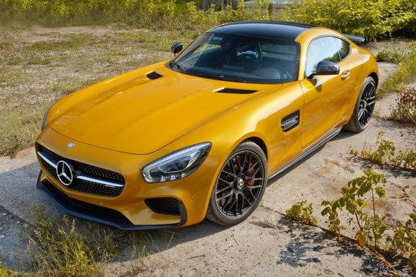Спойлер переднего бампера  Edition 1 для Mercedes AMG-GTS