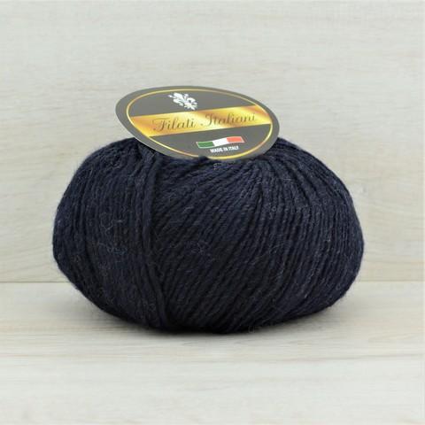 Пряжа Alpaca Fine (Альпака файн) Темно-синий