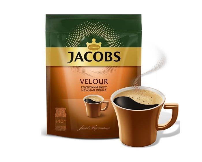 Jacobs Velour с пенкой, 140 г