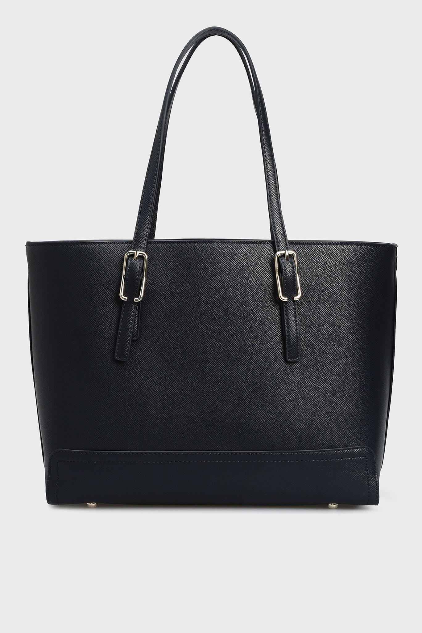 Женская темно-синяя сумка на плечо HONEY MED Tommy Hilfiger