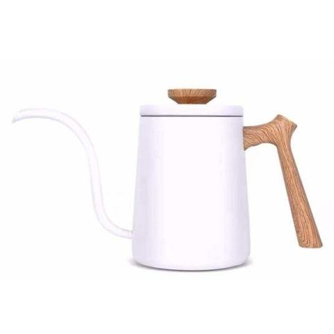 Чайник для пуровера на 600 мл. Mojae 90° Pour Over Kettle белый