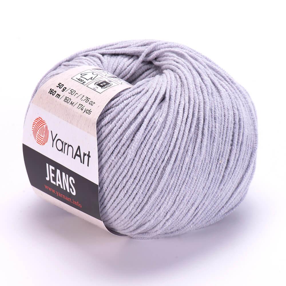 Пряжа YarnArt Jeans 80 св. серый