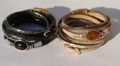Византия -овал (браслет  из кожи)