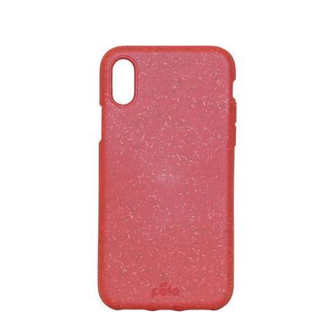 Чехол для телефона PELA iPhone XR Красный