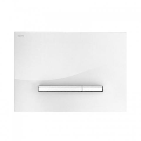 Смывная клавиша Mepa Sirius A 421740 белое стекло