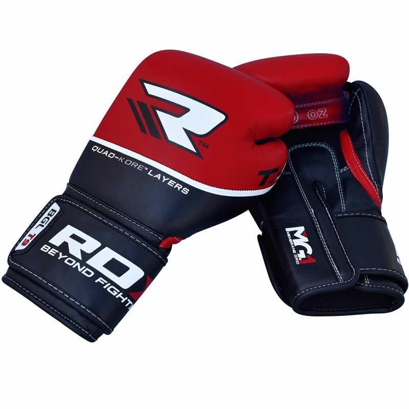 Перчатки Перчатки для бокса RDX Boxing Glove BGL-T9 Red 1.jpg