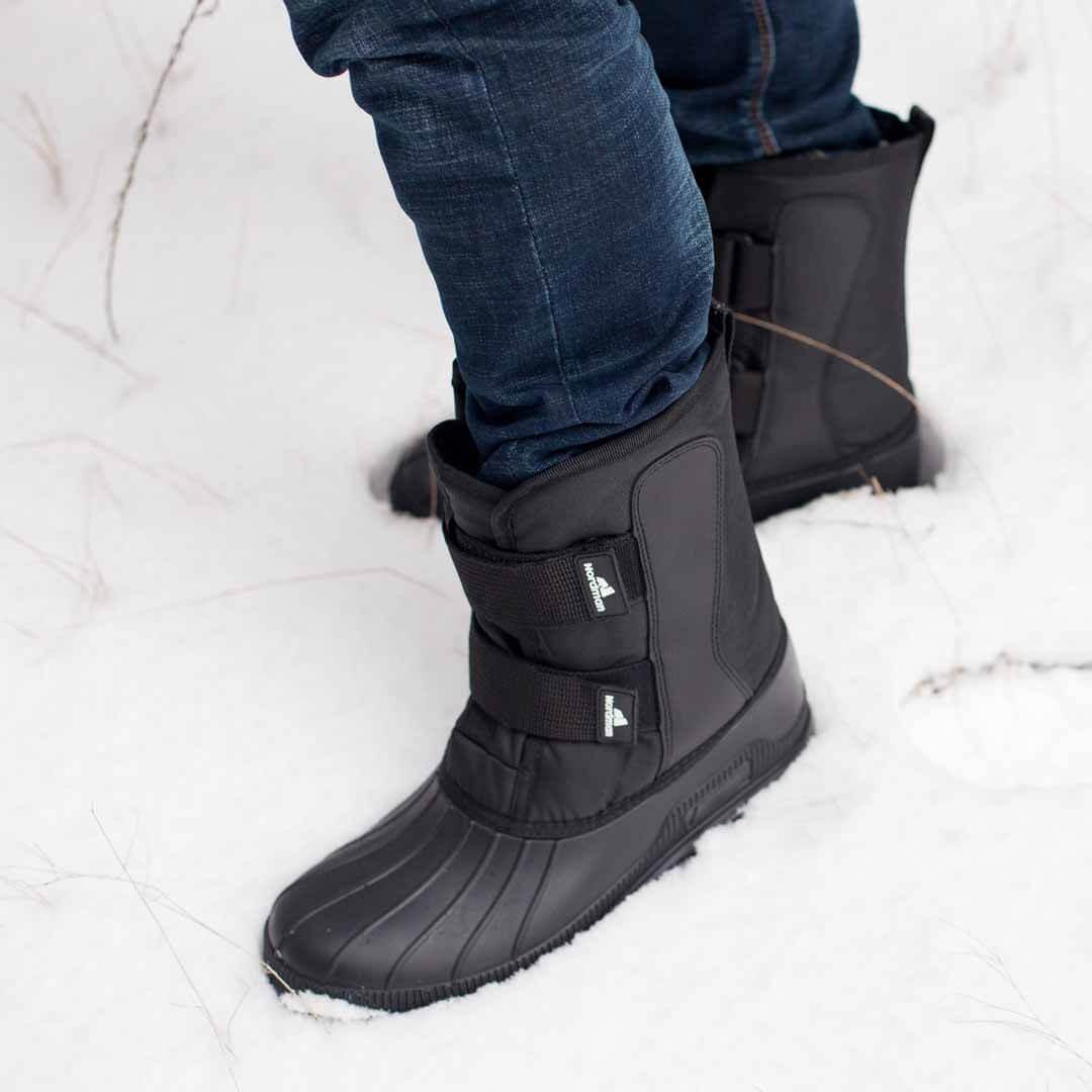 Сноубутсы мужские зимние Nordman Kraft на липучках