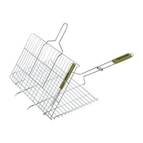 Решетка-гриль Boyscout для стейков с вилкой 61301