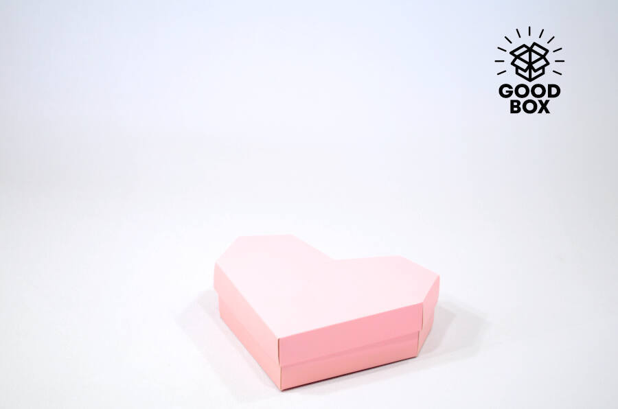 коробка в форме сердца купить недорого в Казахстане