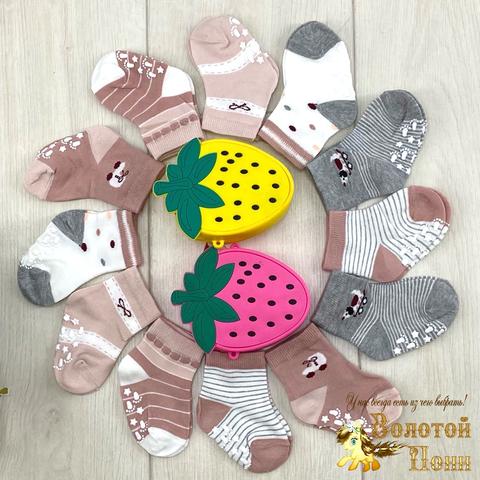 Носочки с тормозами детские (0-18) 211002-KG5096