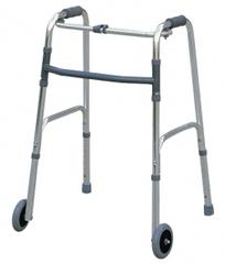 Ходунки на колесиках, складывающиеся, регулируемые по высоте