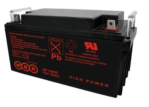 Аккумулятор глубокого разряда WBR 65-12