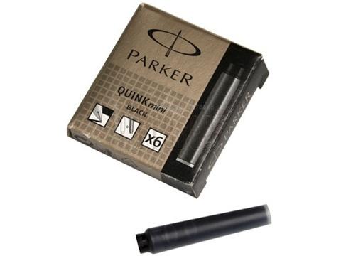 Картридж с чернилами для перьевой ручки MINI, упаковка из 6 шт., цвет: Black123