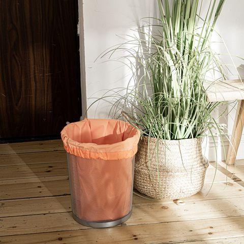 Мешок для мусора многоразовый оранжевый, 10 л