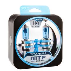 Галогенные лампы MTF Light TITANIUM H4 60/55W