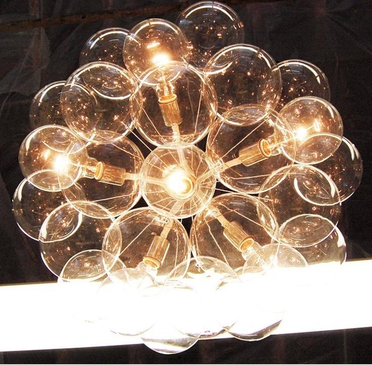 Люстра копия  Original Bubble by Pelle (коричневый)