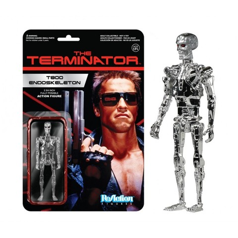 Фигурка Terminator T800 Endoskeleton Reaction 10 см