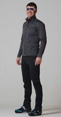 Утеплённый лыжный костюм Nordski Motion Graphite/Black мужской