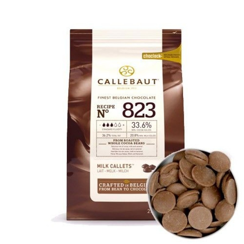 Молочный шоколад Barry Callebaut 33,6%, Бельгия, 100г.