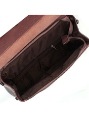 Рюкзак из натуральной кожи розового цвета
