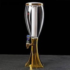 Пивная башня «Вавилон» Gold, 3 литра, фото 1