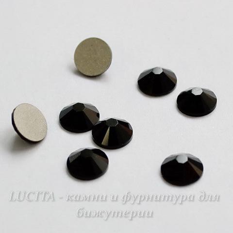 2058 Стразы Сваровски холодной фиксации Jet ss12 (3,0-3,2 мм), 10 штук ()