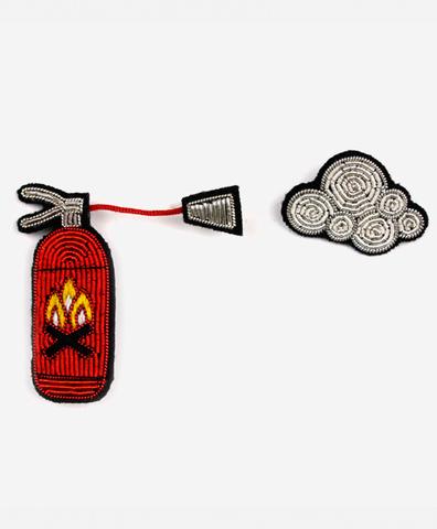 Сет из брошей Extinguisher