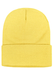 Шапка желтая фото