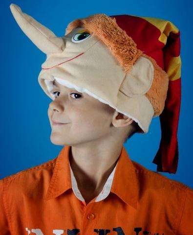 Карнавальная шапочка Буратино