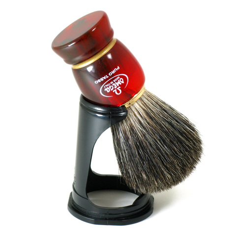 Помазок для бритья Omega 63185 натуральный барсук