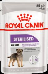 Паштет для взрослых стерилизованных собак, Royal Canin Sterilised