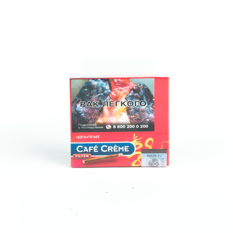 Сигариллы Cafe Creme Filter Indochine 10 шт