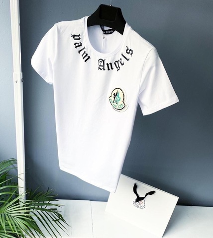 Футболка мужская Moncler Palm Angels