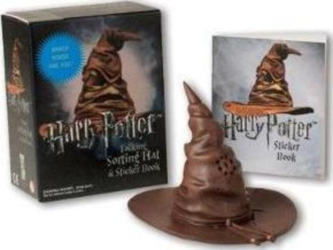 Harry Potter Talking Sorting Hat and Sticker Book MiniKit