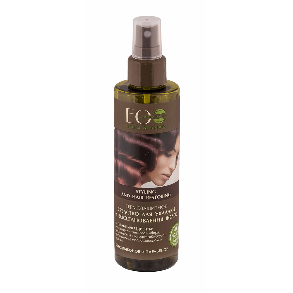 """Средство-спрей для укладки и восстановления волос """"Термозащитный"""""""