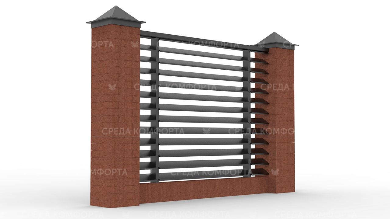 Забор жалюзи ZBR0120