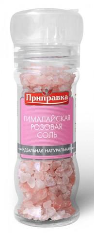 Соль пищ. гималайская роз. 120гр. мельничка  (Гималайская Соль)