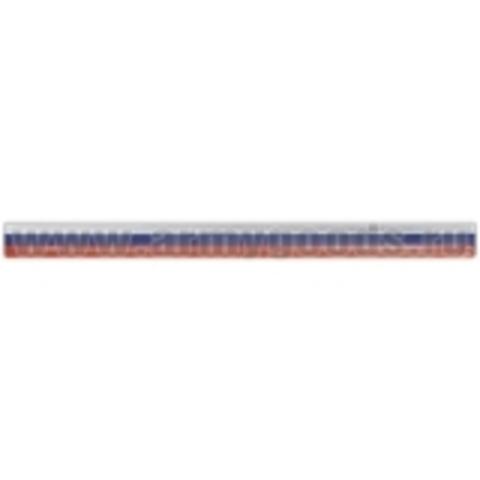 Браслет светоотражающий (слэп) (триколор) 3x40 см