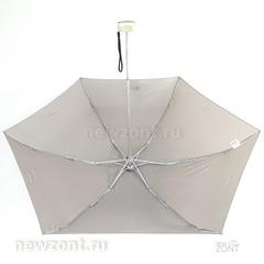 Плоский мини зонтик ArtRain светло серый камень