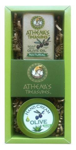 Подарочный набор крем для рук и мыло ATHENA'S TREASURES