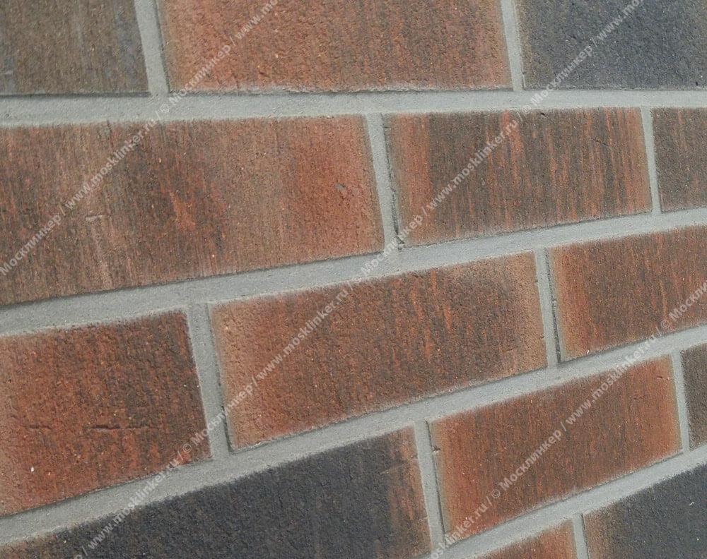 Feldhaus Klinker - R882NF9, Vascu Baro Ardor Carbo, 240х71х9 - Клинкерная плитка для фасада и внутренней отделки