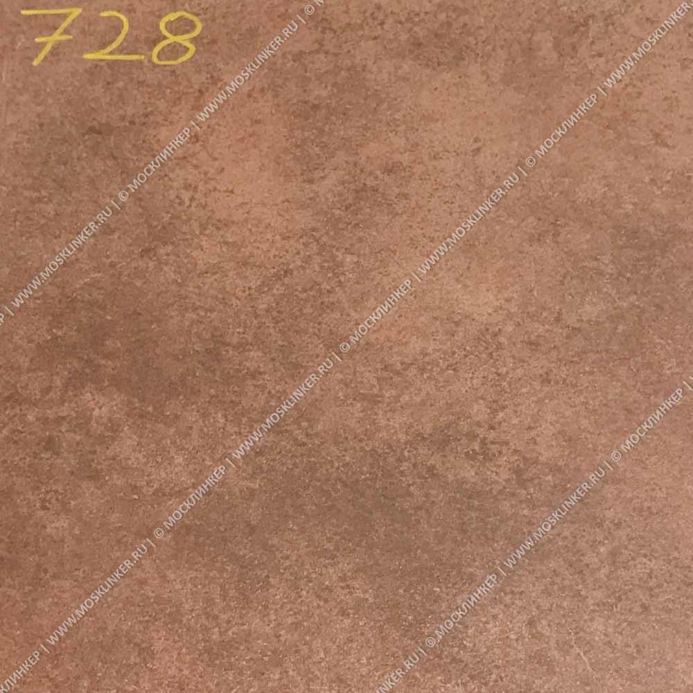 Stroeher - Keraplatte Aera Т 728 core 340x294x12 артикул 9340 - Клинкерная ступень - флорентинер